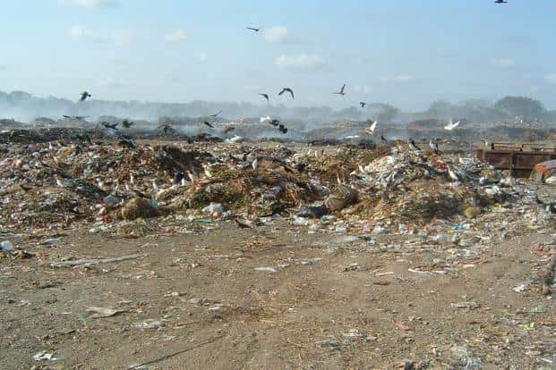 While 85% of the hospital waste is non-hazardous, 15% is infectious or hazardous.