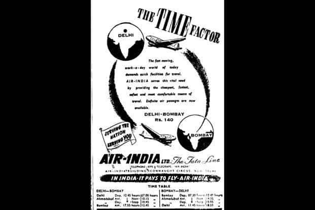 How time flies: In 1947, a ticket from Delhi to Mumbai cost