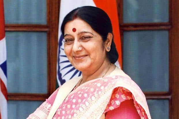 External affairs minister Sushma Swaraj. Photo: HT