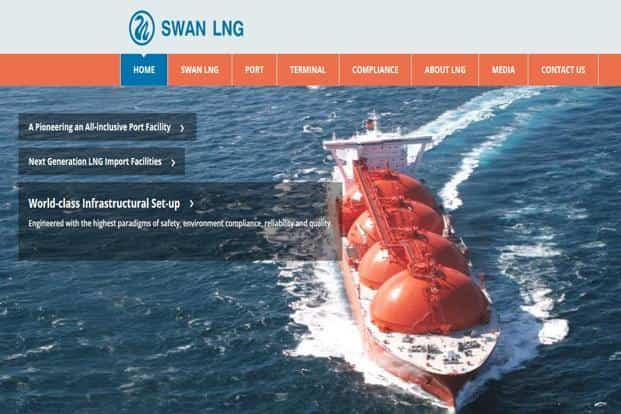 Swan LNG is a fully owned special purpose vehicle set up for the project by the Nikhil Merchant-led Swan Energy.