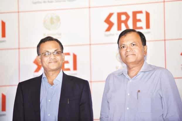 Srei Equipment Finance CMD Hemant Kanoria (left) with vice chairman Sunil Kanoria. The Srei IPO is likely to be launched by February-March 2018. Photo: Indranil Bhoumik/Mint