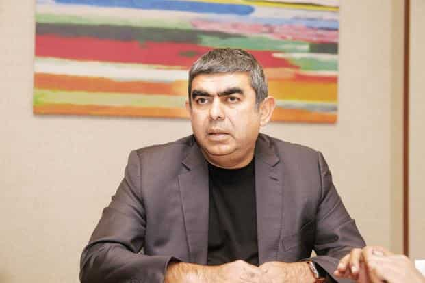 Infosys CEO Vishal Sikka has resigned three years after he took over at the firm. Photo: Abhijit Bhatlekar/Mint