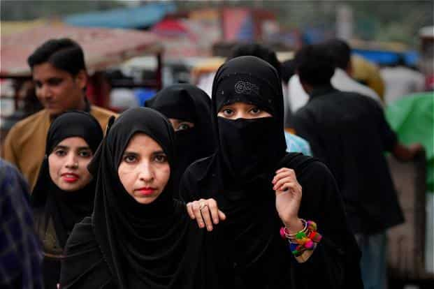 Muslim men tend to remarry far more quickly than Muslim women, according to a survey. Photo: PTI
