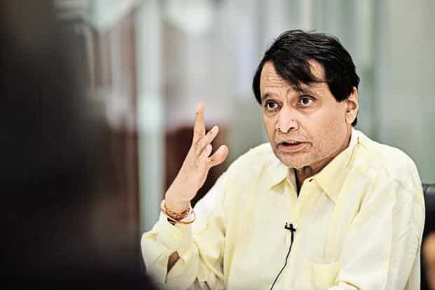 Railways minister Suresh Prabhu offer to quit comes ahead of an impending cabinet reshuffle. Photo: Mint