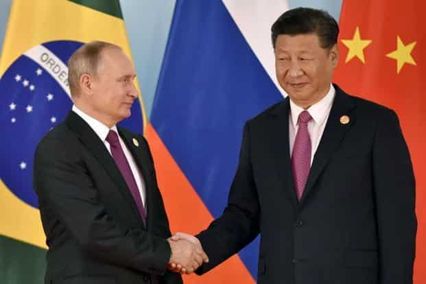 Xi Jinping met Russian President Vladimir Putin and discussed North Korea's latest nuclear test on the sidelines of the summit.  AP