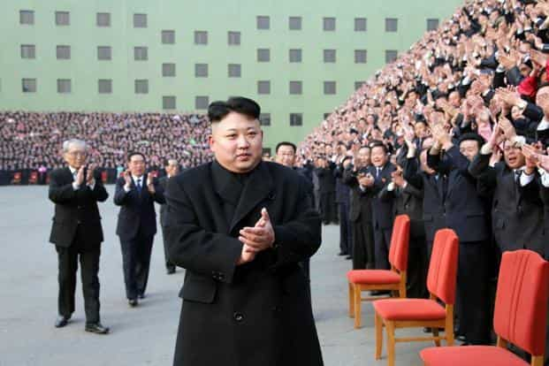 """Believed to be in his early 30s, the Western-educated Kim Jong Un has carried out the majority of North Korea's nuclear tests while railing about America's """"reckless moves"""" toward a war. Photo: AFP"""
