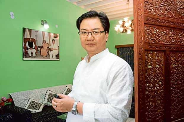 Minister of state for home, Kiren Rijiju, said that since Rohingya Muslims are not legal immigrants, 'they stand to be deported'. Photo: Mint