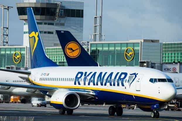 Ryanair is mandated under the Irish Aviation Authority to bring time off for the staff in line with the calendar year from 1 January, requiring it to distribute the backlog before the end of the year. Photo: AFP
