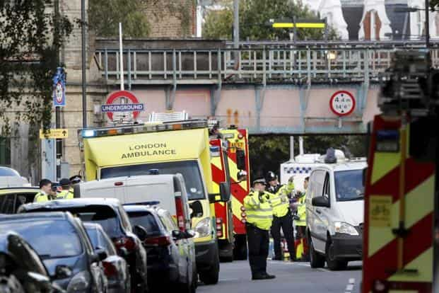 """The joint terrorism analysis center came to the decision independently, and their assessment is that further attacks may be imminent"", Prime Minister Theresa May said in a recorded statement. Photo: AP"