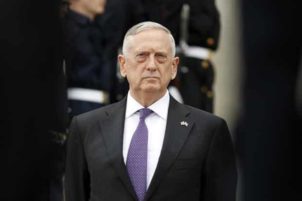 'There are many military options, in concert with our allies, that we will take to defend our allies and our own interests,' says US secretary of defence Jim Mattis. Photo: AP