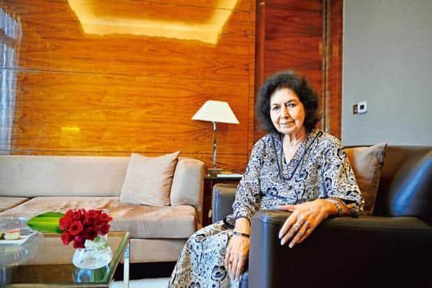 Nayantara Sahgal. Photo: Priyanka Parashar/Mint