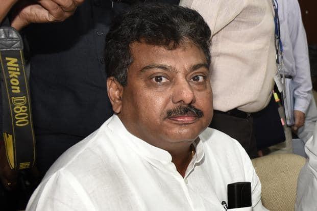 Karnataka water resources minister M.B. Patil led the latest round of Lingayat agitations. Photo: HT