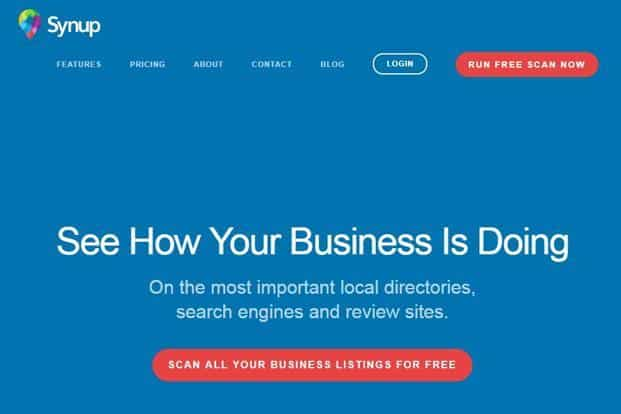 Synup started off as an online business listing provider, helping companies generate leads by registering them on websites such as JustDial and Craigslist.
