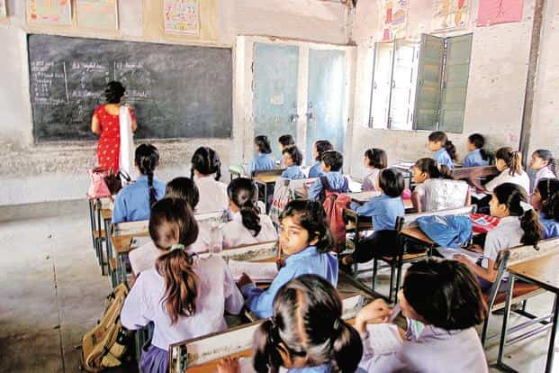 India's enrolment rate in primary education (class I-V) is comparable to that of developed countries. Photo: HT