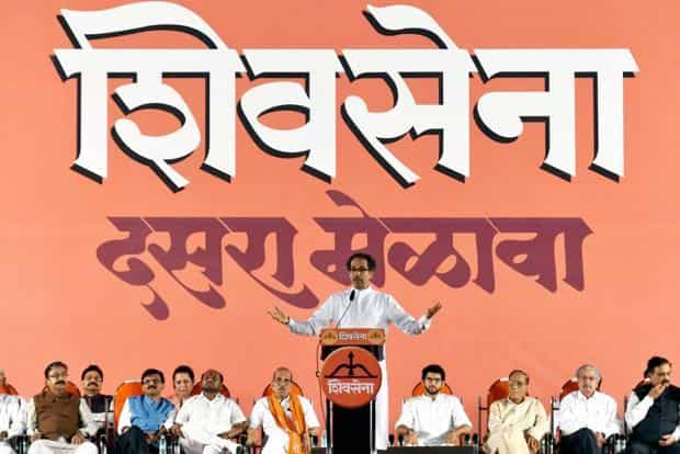 Uddhav Thackeray revived the age-old Maharashtra-Gujarat debate when he questioned the need for the bullet train project that 'only connected the rich in Ahmedabad with their counterparts in Mumbai' at the Shiv Sena's Dussehra rally on Saturday evening. Photo: PTI
