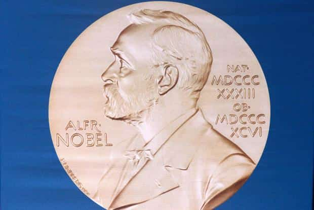 """Alfred Nobel had said he wanted the prize to recognize """"the person who shall have produced in the field of literature the most outstanding work in an ideal direction"""". Photo: AFP"""
