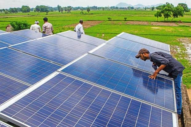 India will need an investment of around $100 billion to meet the target of having 175 gigawatt (GW) of renewable energy capacity by 2022. Photo: Bloomberg