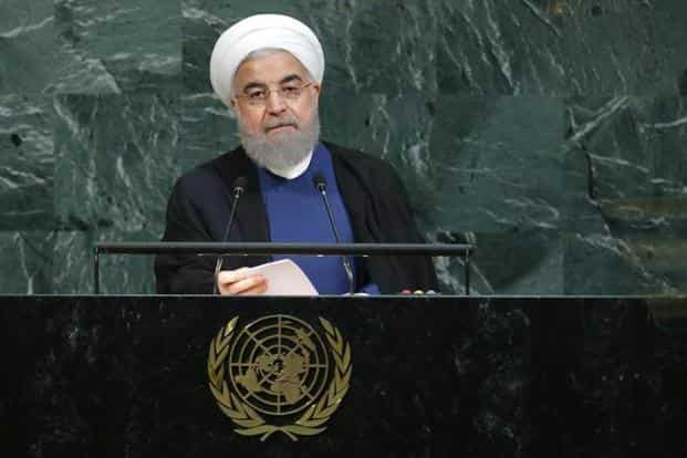 Iran President Hassan Rouhani. Donald Trump's questioning and criticisms of the Iran nuclear deal have exacerbated private (and public) sector concerns over the stability of Iran's economy. Photo: Reuters