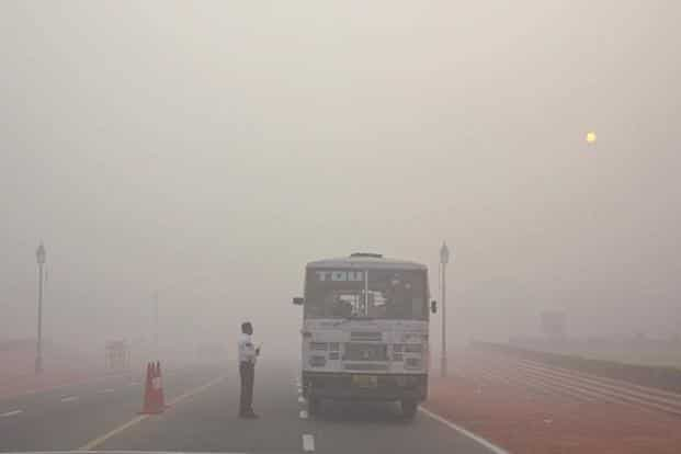 Last year, the day after Diwali, air pollution levels were recorded at eight times the safe limit, with Delhi resembling a gas chamber. Photo: AP