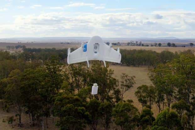 Alphabet's drone tests are the latest development in the race to perfect a delivery system allowing near instant gratification after people make online purchases. Photo: AP