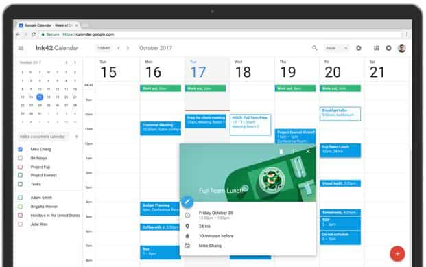 Google Calendar for the web gets smarter
