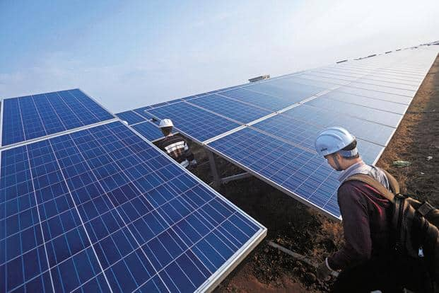 Renewable energy IPOs slated for launch include Mytrah Energy, ACME Solar Holdings and ReNew Power Ventures. Photo: Bloomberg