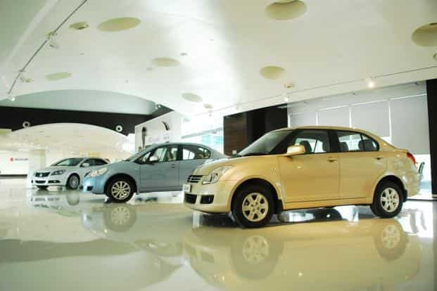 Total vehicle sales for the second quarter increased about 18% to 492,118 units, says Maruti Suzuki. Photo: Pradeep Gaur/Mint