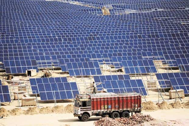The uncertainties in the renewable energy space could prompt a rethink on India's energy mix, and make India renegotiate the commitments made two years ago at the Paris climate summit. Photo: Mint