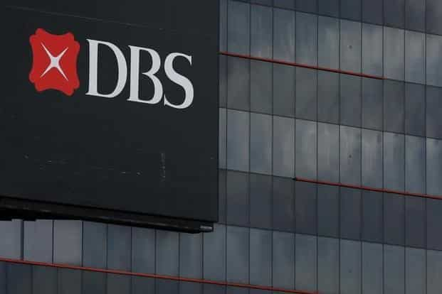 DBS shares slipped 0.8% in early Singapore trading. Photo: Reuters