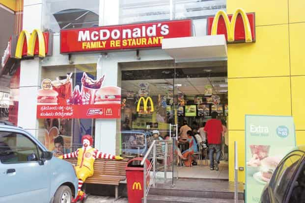 Shares of Westlife Development Ltd, which operates McDonald's restaurants in western and southern India, closed at Rs263.05 on the BSE on Monday, up 4.97% from their previous close, while the benchmark Sensex index closed 0.14% higher. Photo: Mint