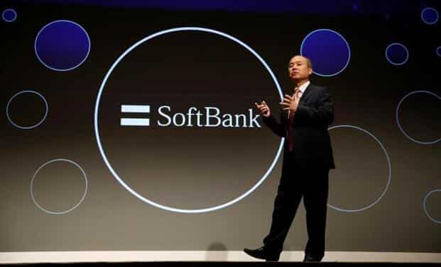 SoftBank Group Corp. chairman and CEO Masayoshi Son attends a news conference in Tokyo. Photo: Reuters