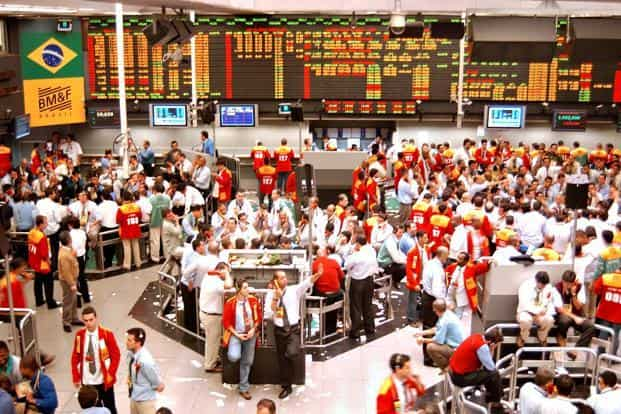 File photo of the Brazilian Mercantile and Futures Exchange, or BM&F. The aggregate FDI data for the first semester of 2017 was $40.3 billion. Photo: Bloomberg