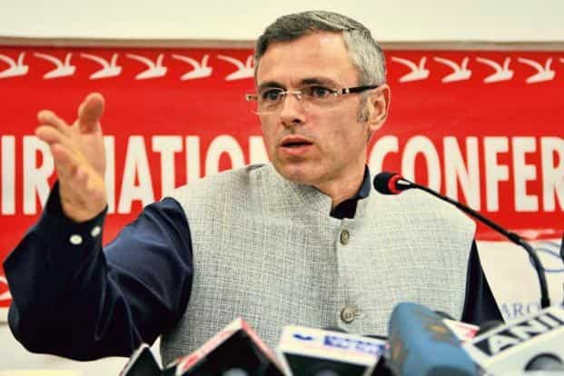 The political discussions with Omar Abdullah took place just three days after party president Farooq Abdullah dismissed Dineshwar Sharma's visit to Kashmir. Photo: HT