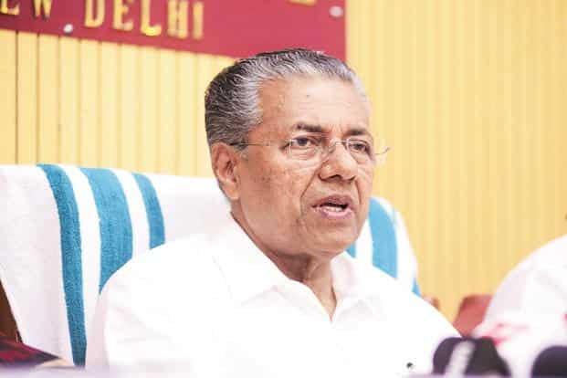 Kerala chief minister Pinarayi Vijayan suggested the scheme is more than about just free distribution of sanitary napkins and is an attempt to normalize public debates about menstrual hygiene. Photo: Ramesh Pathania/Mint