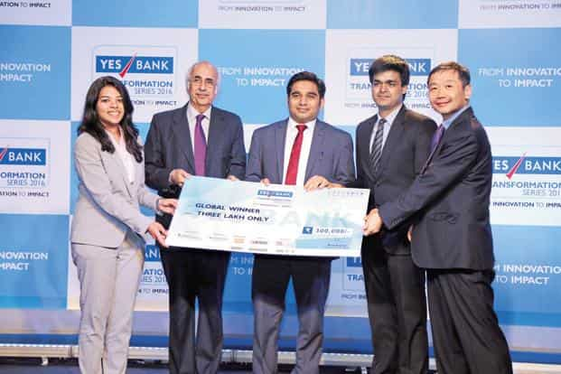 e7bebc245e84 ... The winners of last year s YES Bank Transformation Series. YES Bank  Transformation Series is an