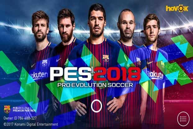 download pes 2018 di play store