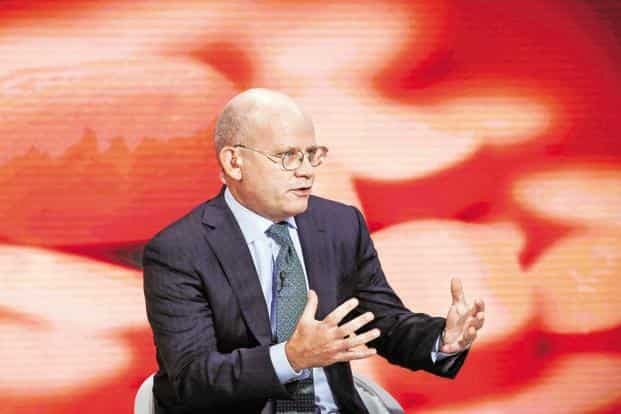General Electric CEO John Flannery is readying a dramatic overhaul three months after taking over the reins as chief executive. Photo: Bloomberg