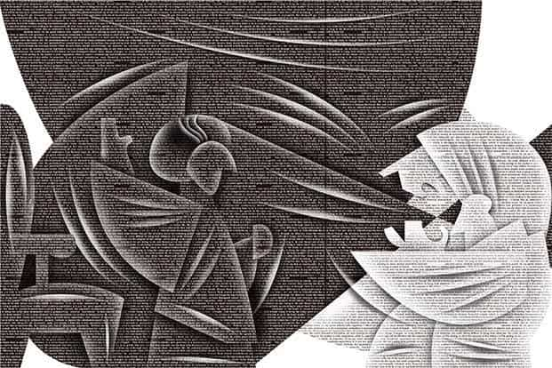 Indira Gandhi's various moves like bank nationalization and Operation Blue Star continue to evoke strong views. Illustration: Jayachandran/Mint