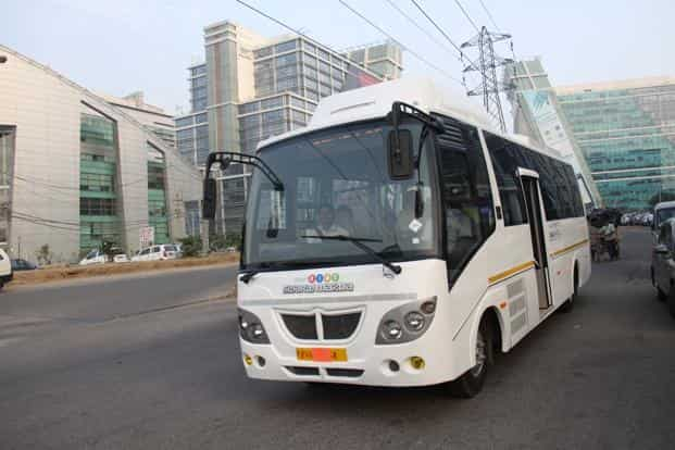 The buses on these routes are GPS-enabled with routes being tracked and passenger data being collected. Photo: HT