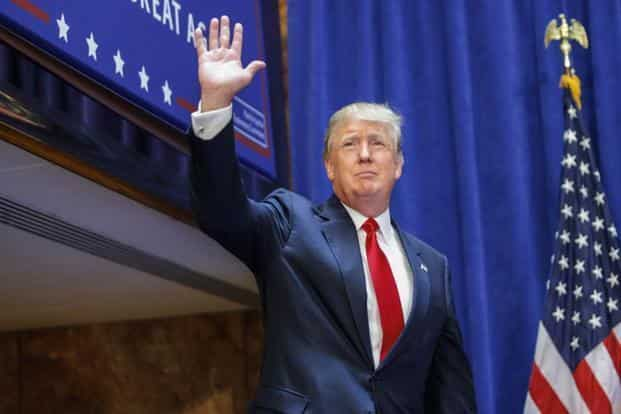 The Trump Organization, founded by US President Donald Trump, already has Trump Towers in Pune and Mumbai. Photo: Bloomberg