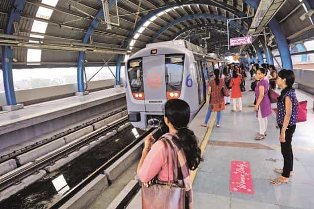The Blue Line, considered the metro's busiest, lost over 30 lakh commuters. Photo: Mint