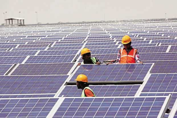 As solar panels account for nearly 60% of a solar power plant's cost, companies have been using Chinese imports to reduce costs.