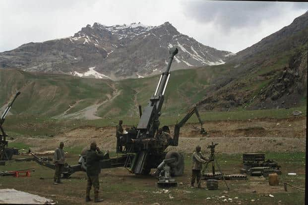 File photo of the Bofors gun. Officials from the UAE are currently in India for trial of another component used in heavy artillery guns. Photo: India Today Images