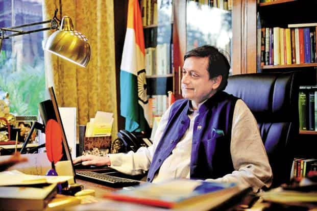 Shashi Tharoor had filed a defamation suit against Arnab Goswami for maligning him while running news shows on Times Now and Republic TV on Sunanda Pushkar's death. Photo: Pradeep Gaur/Mint