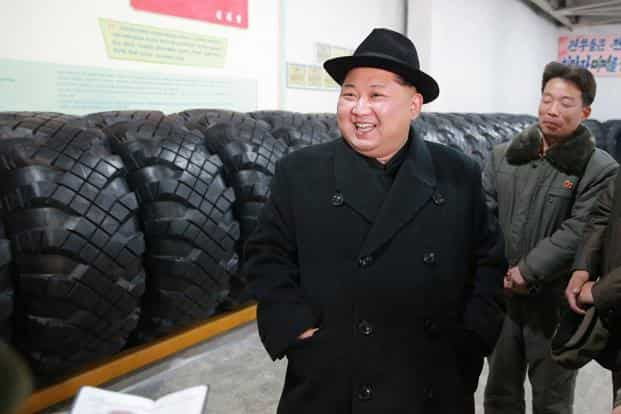 Kim's actions, and the contradictory responses of Washington, have made the region an atomic powder keg waiting for a deliberate, inadvertent or accidental spark to blow it up.  Photo: AFP