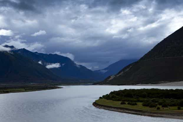 Sporadic reports on China's water diversion plans on the Yarlung Tsangpo, the upper stream of the Brahmaputra river, are invariably met with sustained overreactions in India. Photo: AFP