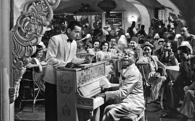 A still from 'Casablanca'.