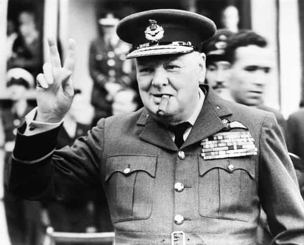 A file photo of former British PM Winston Churchill. Churchill, who smoked 10 cigars a day and lived to be 91, seems to be one of those who were spared the deleterious and carcinogenic effect of smoking. Photo: Getty Images