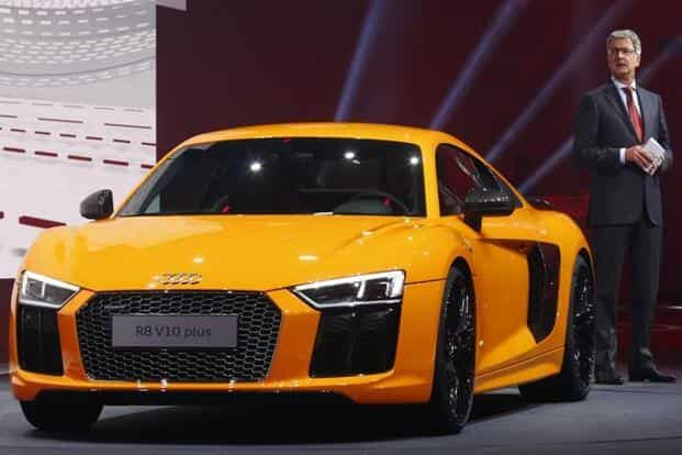 Audi, which owns Ducati and Italian supercar maker Lamborghini, last month reported higher operating profit and revenue for the first nine months. Photo: Reuters