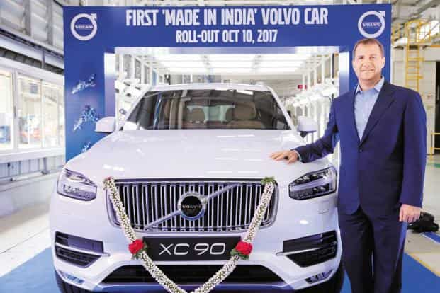 Volvo To Roll Out Only Hybrid Electric Cars In India After 2019